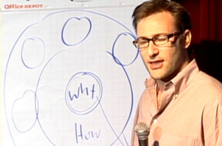 ted talk on how great leaders inspire action